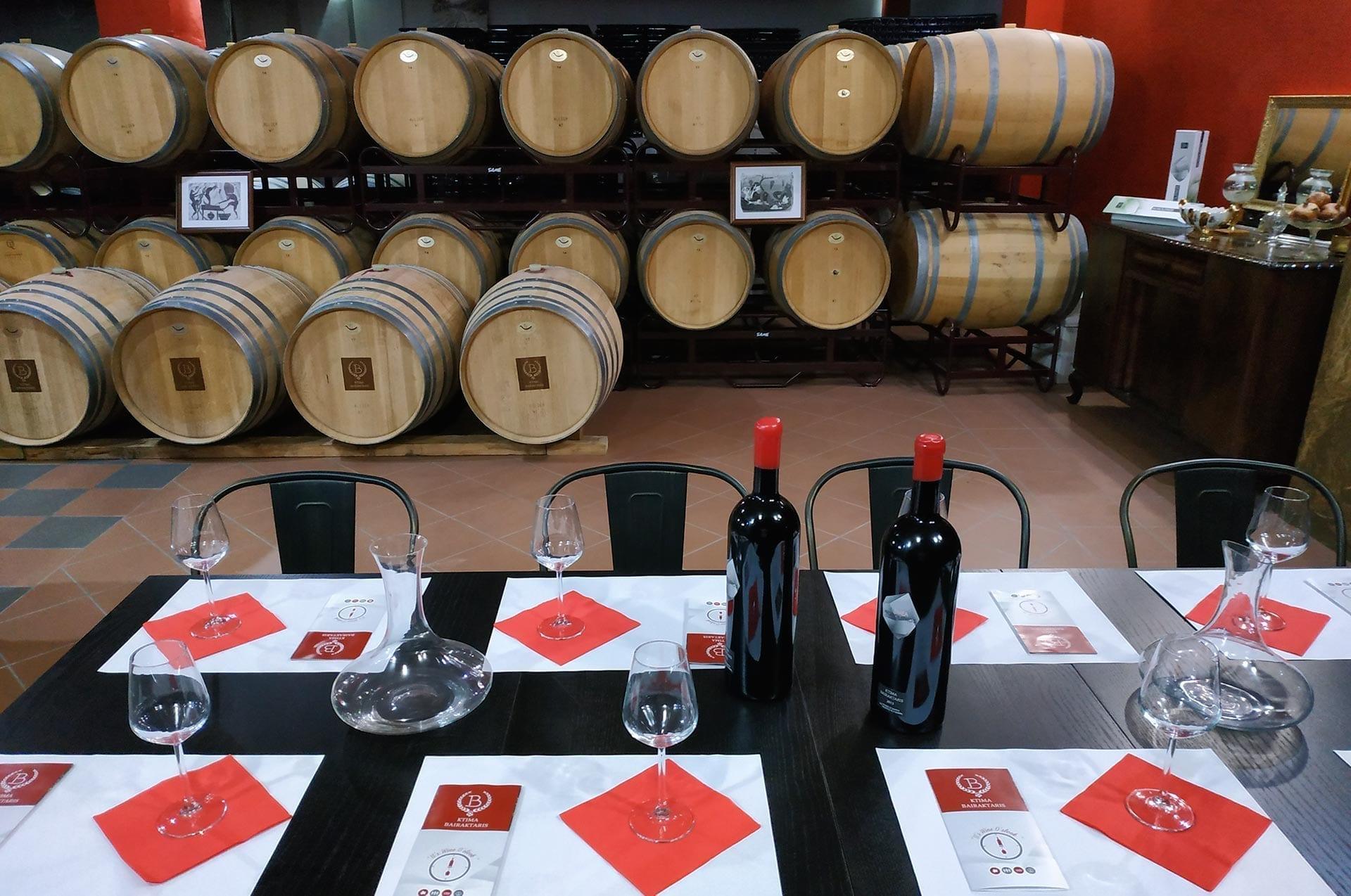Bairaktaris winery