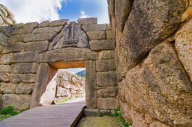 Mycenae entrance